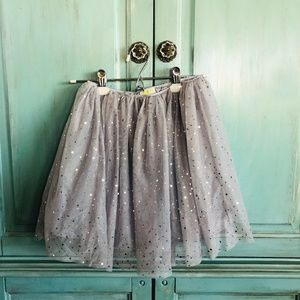 Sparkly tulle skirt size 10-12